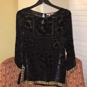 Calypso st Barth XS embellished top